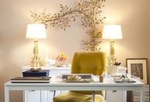Inspiring Work Spaces / From glam to gorgeous every work space should be inspiring.