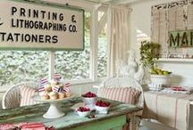 cottage chic / by Sophie Mae