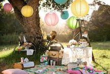 Piknik / La deg inspirere av disse bildene og oppskriftene for en romantisk piknik!