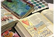 "Journaling Through The Bible / Jesus explains in Mark 4 the importance of knowing the Word of God. It is like a seed. You plant it into your heart & it will reap a great harvest. However, we must plant it into good soil. Jeremiah 30:2 states: ""Thus speaks the LORD God of Israel, saying: 'Write in a book for yourself all the words that I have spoken to you."" Journaling helps plant God's Word for the Holy Spirit to instantly retrieve when it's needed most. / by Anne Glenn"