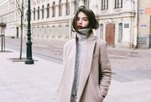 w i n t e r + f a l l / Minimalist and chic wardrobe for winter and fall