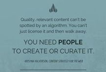 Content Marketing Quotes / Some of our favorite inspirational quotes on content marketing, social media, curation, creativity and other related topics.