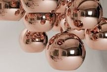 Copper in Interiors / Copper Accessories & Design