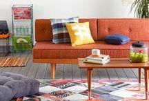 Mid-Century Style / Mid-Century Interior Design - 50s, 60s, 70s