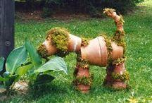 Tuin: Decoratie / Garden: Decoration / garden, gardening, jardinage, Gärtnerei, jardinagem, jardinería, bahçıvanlık, trädgårdsarbete, hagearbeid, havearbejde, baštovanstvo, vrtu, puutarhanhoito, градинарството, ogrodnictwo, zahradnictví, yard, back yard, front yard, backyard, frontyard, how does your garden grow, / by Gele Muis