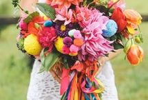 || Wed - Rainbow || / - Bright and colourful wedding inspiration -