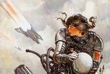 Sci -Fi Cyberpunk Future