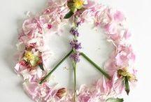 Blumen Blüten Flatlays / Flower Power Flatlays / Mein tägliches Blumenyoga - my daily floweryoga - best meditation!