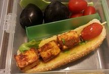 Lunch Box Ideas / Easy to put together lunch boxes which can be made the night before or in the morning. They are fun, healthy and have a treat in them occasionally.