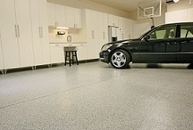 Garage Flooring - Beautiful! White Rabbit Garage Organizers, Chicago / White Rabbit provides a Polyurea floor coating system which is the latest advancement in concrete coating technology available on the market today. It is ideal for garage and basement floors. Your floor has cracks and pitting? No worries. White Rabbit will make your floor look better than new!