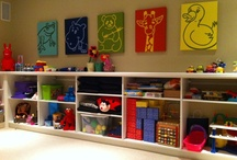 Kids clutter be gone! / At White Rabbit Garage Organizers, we believe that teaching children organizational skills at an early age will benefit them for a lifetime. We approach our organizational projects with kids in mind, and design systems that will help them keep their items where they should be.