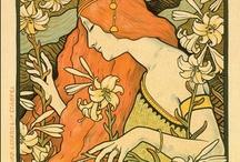 Art Nouveau Prints / by Meral Cetin