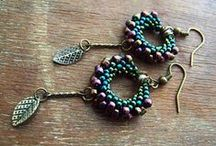 beads-brick stitch, peyote etc.