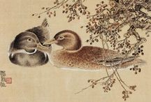 Chinese& Japanese Art / Animals ,flowers and landscape... / by Meral Cetin