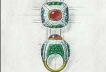 NYJDI Jewelry Renderings / Jewelry Design