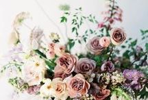 florals and greenery