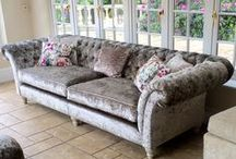 Sofas / Sofas either made by Zinc or ones that we love and could make.