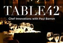 Table 42: Episodes / Hosted by restaurant and digital media maven Paul Barron, author of The Chipotle Effect. Table42 is not your regular celebrity chef show, but instead it delivers behind the scenes of how the greatest restaurants in the world work. Consumers love affair with food and the innovation and ideas that this show brings out each and every episode deliver something special to both operators, foodies and consumers.