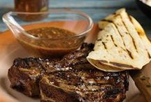 Steaks from Hell / This recipe literally is steaks from hell. It comes from an unassuming steak house in Jaurez, Mexico, called Mitla, and mitla is the Nahuatl Indian word for hell. / by Barbecue! Bible