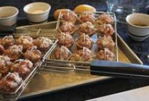 Grilled Meatballs with Lemon-Dill Sauce / by Barbecue! Bible