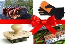 2013 Barbecuers' Holiday Gift Guide / The 2013 Barbecuers' Holiday Gift Guide - a compilation of cool fuels, tools, and seasonings for the favorite barbecuer or griller in your life. Permission granted to print it out and distribute it to people who might need gift ideas for you. / by Barbecue! Bible