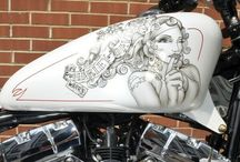 Bike paint and design
