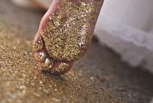 Glitter Party Inspiration / I love sparkly things. I'm a complete magpie. I love gold and glitter and will be found with bags of glitter in my handbag.