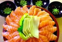Salmon / I made this board just because I am a salmon lover.