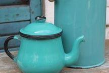 Vintage con mucha onda / Nos encantan los objetos retro reciclados ! queremos que se queden en casa
