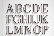 Typography / Dessin de lettre, Écriture, Typographie
