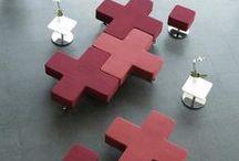 movelaria / Ideias de móveis para espaços coletivos de trabalho.