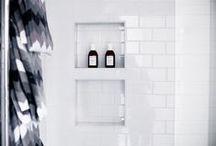 Stora badrummet och bastun