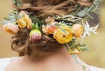 Inspiration: Hair Flowers