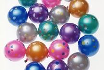 Metallic & Crystal YoYo Balloons / The essence of brightness and fun, ideal for parties and gifts.
