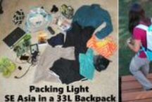 Minimalist Backpacking Asia / Here's what I packed for four months of backpacking around SE Asia. It's not much - it fits in a 33L backpack.