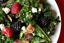 Salads / Use items from your CSA box to make tasty salads