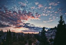 In love...with the sky / You own the skies...yet you still want my heart