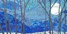 Mozaic Wall Tree Ideas