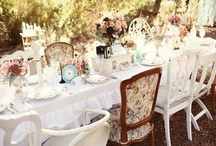 The Tea Party  / You are all invited! full of tea, tea settings, cakes, muffins, cupcakes and delicious things !
