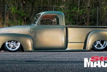 Truck Obsessions / What can i say?!  I love my trucks...Mostly pre-60's era, but then again newer models sneak in periodically. Enjoy! / by RedneckNparadise