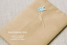 pretty packaging | wrapping