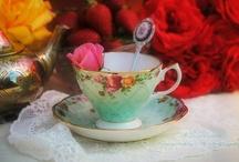 Tea cups, lots of them!