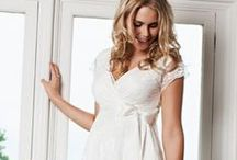 Maternity Wedding Dresses / Selected designs from the Maternity Wedding Dress Collection by Tiffany Rose