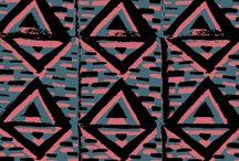 Textile print design / by M Mc
