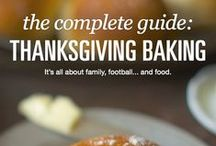 Thanksgiving / Thanksgiving is all about family, and pumpkin pie, and lots of people around the table, and cranberry muffins, and football games, and stuffing and turkey and oh, did we mention those soft, buttery dinner rolls? / by King Arthur Flour