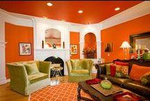Orange Area Rugs