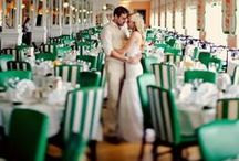 Weddings :: Emerald - Pantone 2013 Color of the Year / The rich Emerald jewel tone sets the stage for a royal wedding.