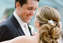 Weddings :: Hair and Makeup / DIY or styled up high, find some perfect wedding day looks right here!