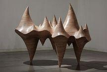 Art: Abstract: Sculpture, installation / Abstract sculptures and installations / by Áhugamálin Mín
