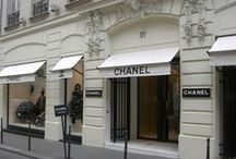 Coco Chanel's Paris Apt / 31 Rue Cambon is more than just a place in Paris. It represents a beginning of the World of CHANEL. Gabrielle Chanel bought the space in 1921 and began her career within.  The four floor building housed her Couture Boutique and working quarters, with her apartment on the top floor. Although Coco would eventually acquire an oppulent apartment within the Ritz, where she slept, she worked and entertained from 31 Rue Cambon until her death.   / by Debra Ackerbloom